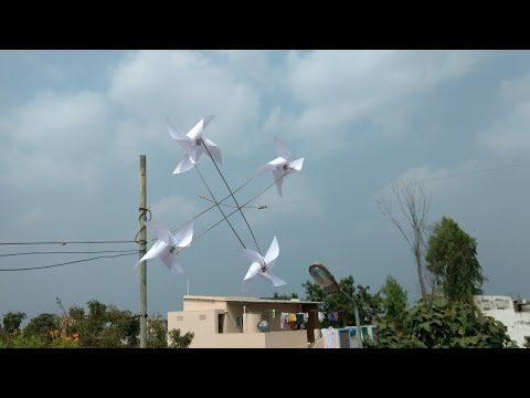 DIY paper drone that can fly |paper drone |wind power drone|drone