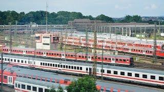 Führerstandsfahrt BR 101 Bw Stuttgart - rein, raus & viel mehr !