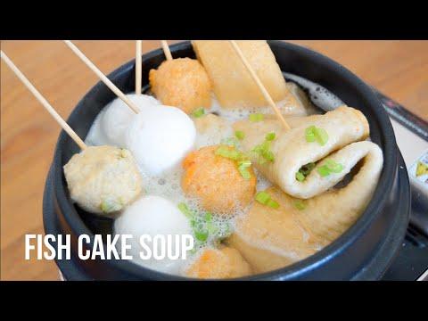 KOREAN FISH CAKE SOUP RECIPE (OEMUK GUK)