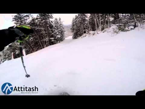 Attitash Mountain Resort - Just Another Pow Day