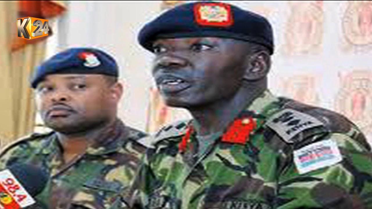 Kiraithe out, Oguna in : (Rtd) Col  Oguna is new gov't spokesman