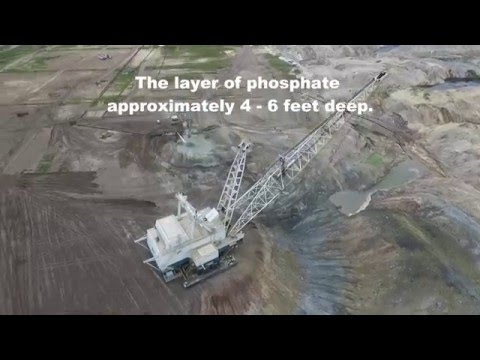 Aerial View of Draglines in action