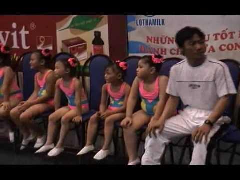 Nhà Trẻ HẠNH PHÚC Thi Đấu AEROBIC Ngày 1 6 2009  Tập 3