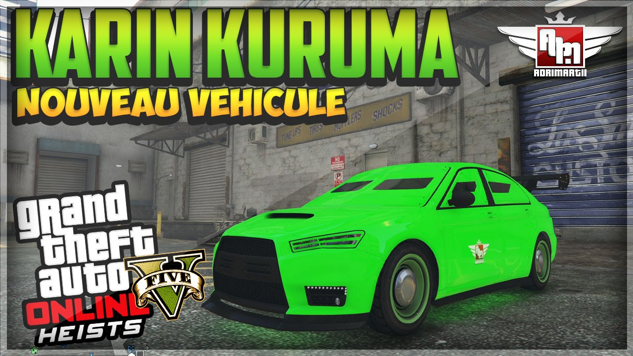 debloquer le karin kuruma - gta 5 online - youtube