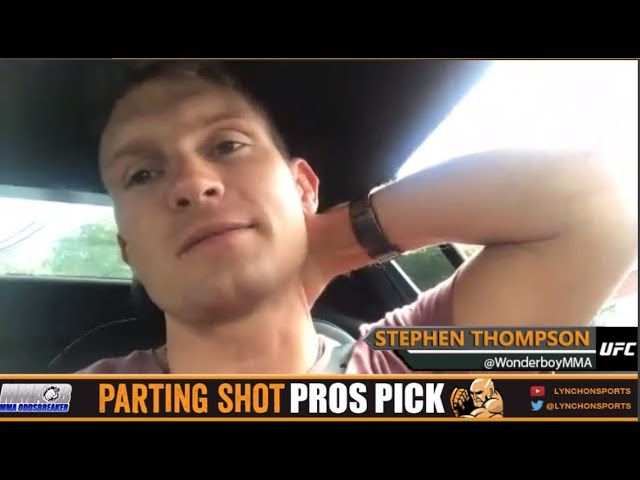 MMA Pros Pick - Cody Garbrandt vs. TJ Dillashaw (UFC 217)