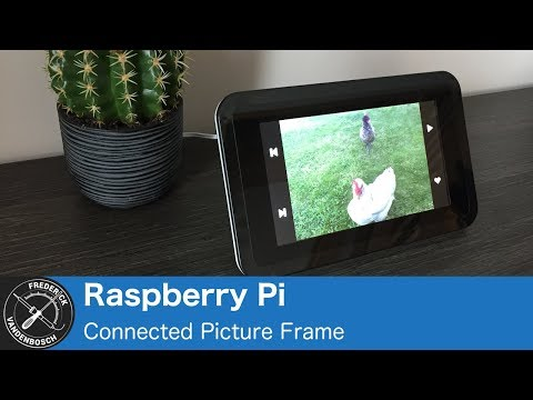 Raspberry Pi Connected Picture Frame with Resin.io