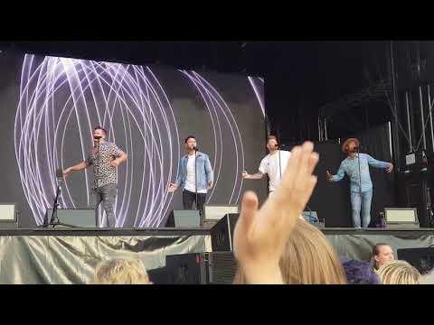 Blue - U Make Me Wanna - Canterbury - Spitfire Ground 09/06/2018