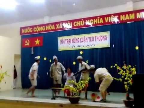 Hoạt Cảnh Biết Ơn Chị Võ Thị Sáu - lớp 12D1 THPT Tạ Quang Bửu 2014-2015