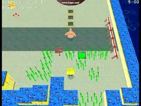 Spongebob Games Krabby Quest