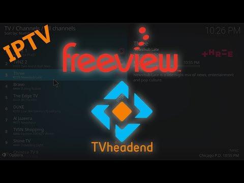 Tvheadend IPTV Server Setup For Freeview NZ