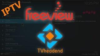 Tvheadend IPTV Server Setup fo…