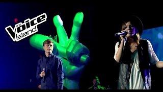 Franz vs. Karlotta - Love Me Harder | The Voice Iceland 2015 | Battle