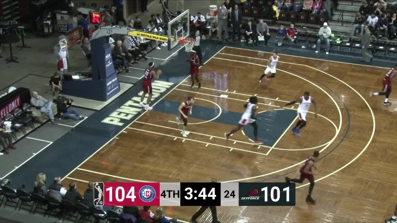 Angel Delgado (18 points) Highlights vs. Sioux Falls Skyforce