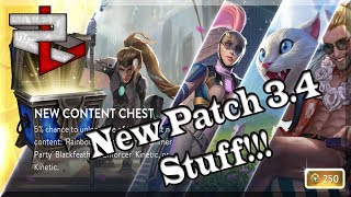 NEW Patch 3.4 Chest Opening!!  Story Time With Rickless And A Thank You