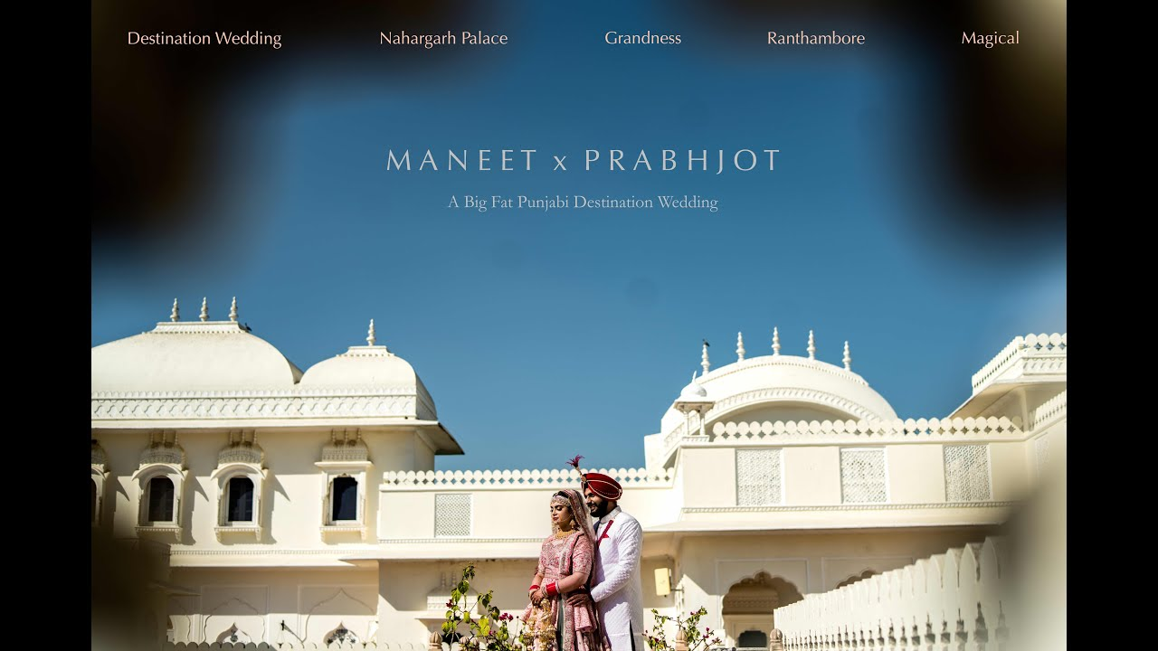 Maneet & Prabhjot | A Big Fat Punjabi Wedding | Wedding Teaser 2021