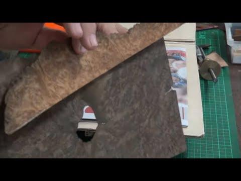 Simple way to Ebonize Wood Veneer