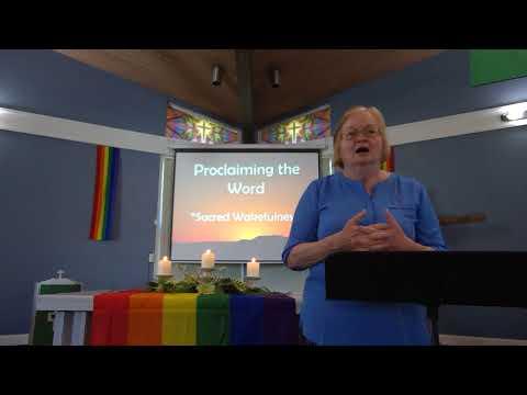 "June 27, 2021 ~ Rev. Julia Price ~ ""Sacred Wakefulness"""