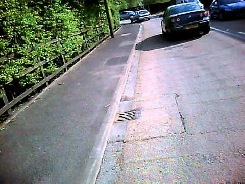 MA60ZXY. Near head on crash at Jubilee Bends. 20110506