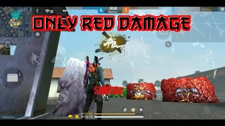 Only Red Damage 🔥 PerfectShot 🎯