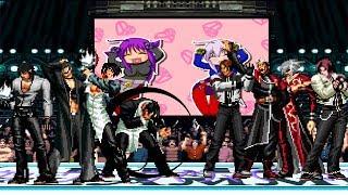 KOF Mugen Dyagamy Team VS Alejandra Team [Batalla Épica]!
