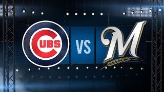 8/1/15: Rizzo, Schwarber lift Cubs to win vs. Brewers