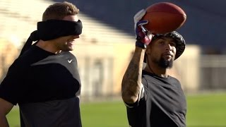 Odell Beckham + Dude Perfect = FUN ▻Click to see more from the Dudes and NBC Sports at the Super Bowl! http://bit.ly/SNFonNBCfb ▻Like Sunday Night ...