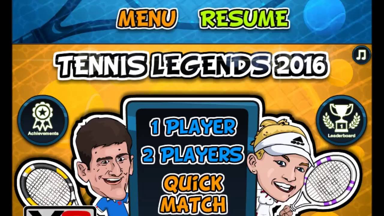 Y8 Gaming Tennis Legends Youtube