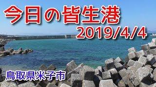 今日の皆生港 鳥取県米子市