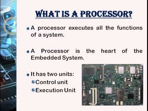 Embedded Systems - An Overview