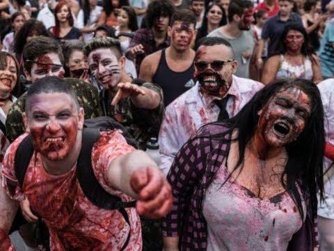 В Нью-Йорке обнаружили зомби. Зомби вирус захватил Америку. World War Z прохождение глава1 Сошествие