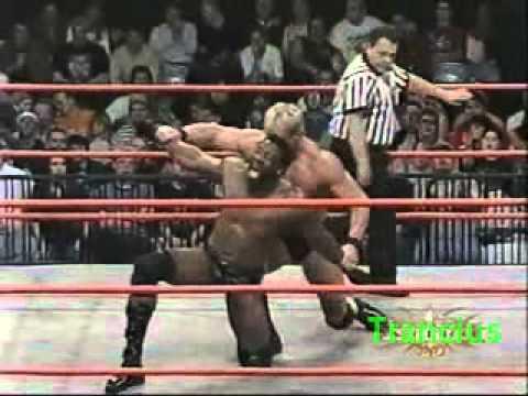 WCW.Monday.Nitro.03.12.2001 - Booker T vs Lex Luger