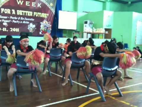 cheerleading of grade 6 sevilla school