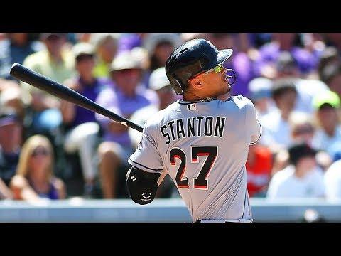 Giancarlo Stanton | 2017 Home Runs ᴴᴰ