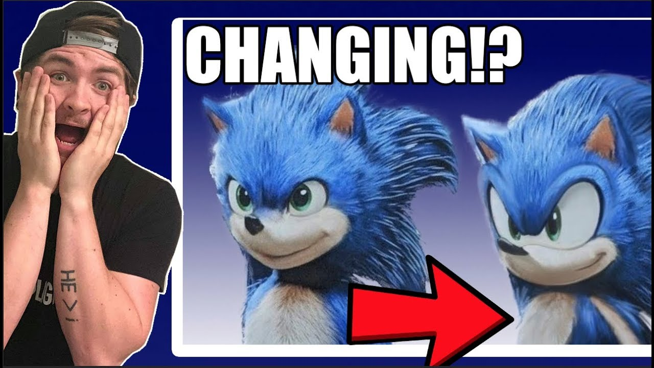 Paramount is redesigning Sonic because the internet complained so much