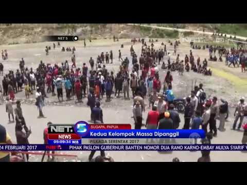 Dua Massa Pendukung Paslon Pilkada Papua Bentrok, 3 Tewas Ratusan Rumah Dibakar - NET5