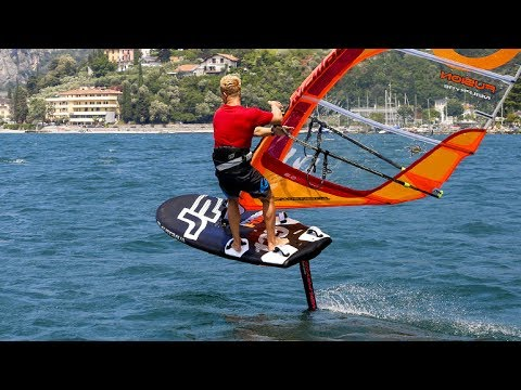 German Windsurf magazine SURF & JP Foil Special