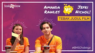 Download Video BMS Challenge! Amanda Rawles VS Jefri Nichol Tebak Judul Film - BookMyShow Indonesia MP3 3GP MP4