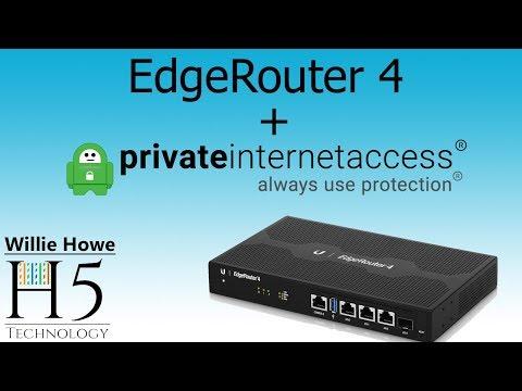 EdgeRouter 4 Private Internet Access VPN Testing (PIA)