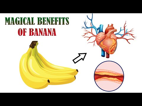 😱😱  If You Eat 2 Bananas Per Day For A Month, This Is What Happens To Your Body