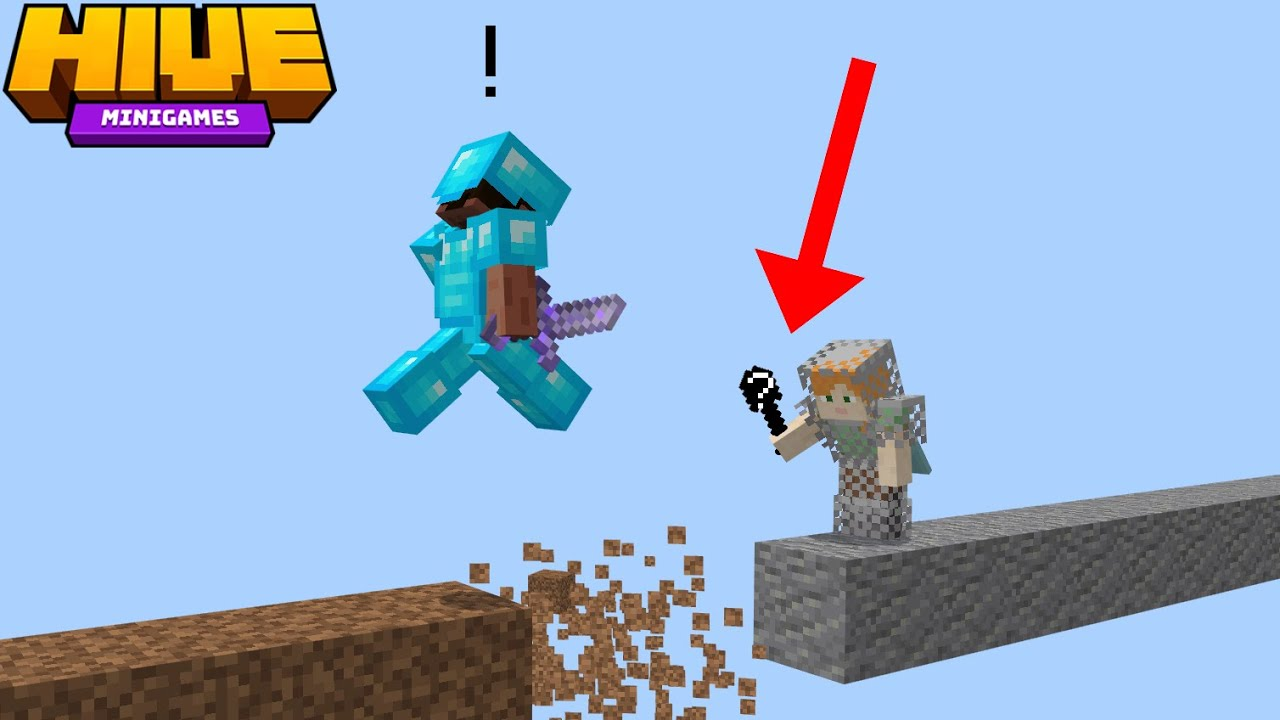 Trapping In Hive Skywars With A Secret Item...