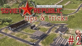 Astuces & conseils 2 - Workers & resources : Soviet Republic thumbnail