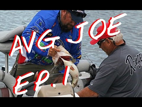 INSIDE LOOK INTO THE FLW TOUR, Bank Loan, Ice Fishing, New Boat, AVERAGE JOE EPISODE 1