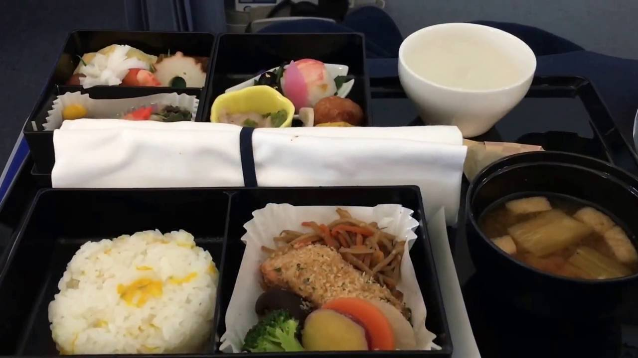 All Nippon Airways Food Review