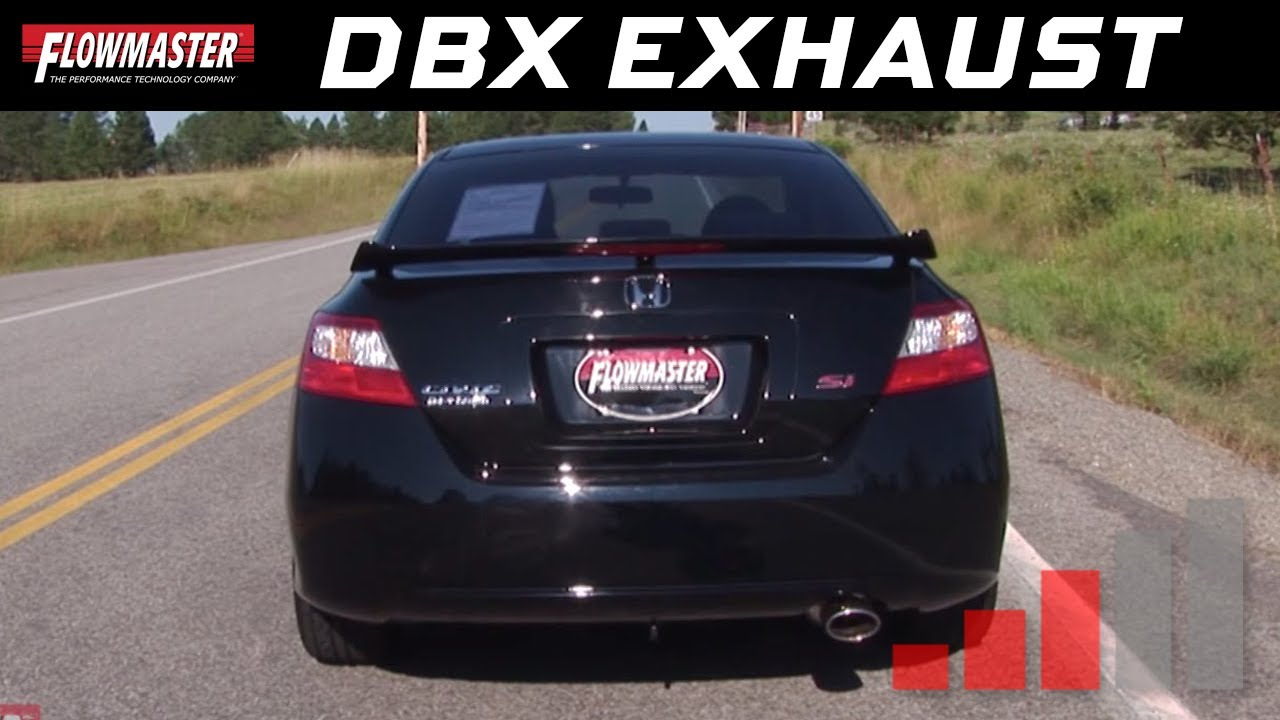 Flowmaster Dbx Series Cat-back Exhaust System