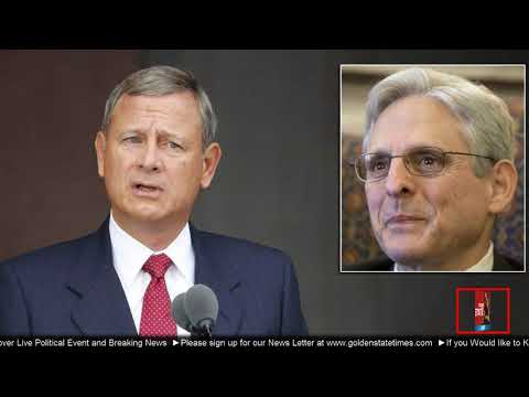 BREAKING NEWS: Chief Justice John Roberts picks Merrick Garland for new KEY job