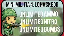 Mini Militia 410 Unlimited Ammonitrobombspro Packstore Iteams