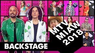 MTV MIAW 2018 BACKSTAGE - LOS RULES