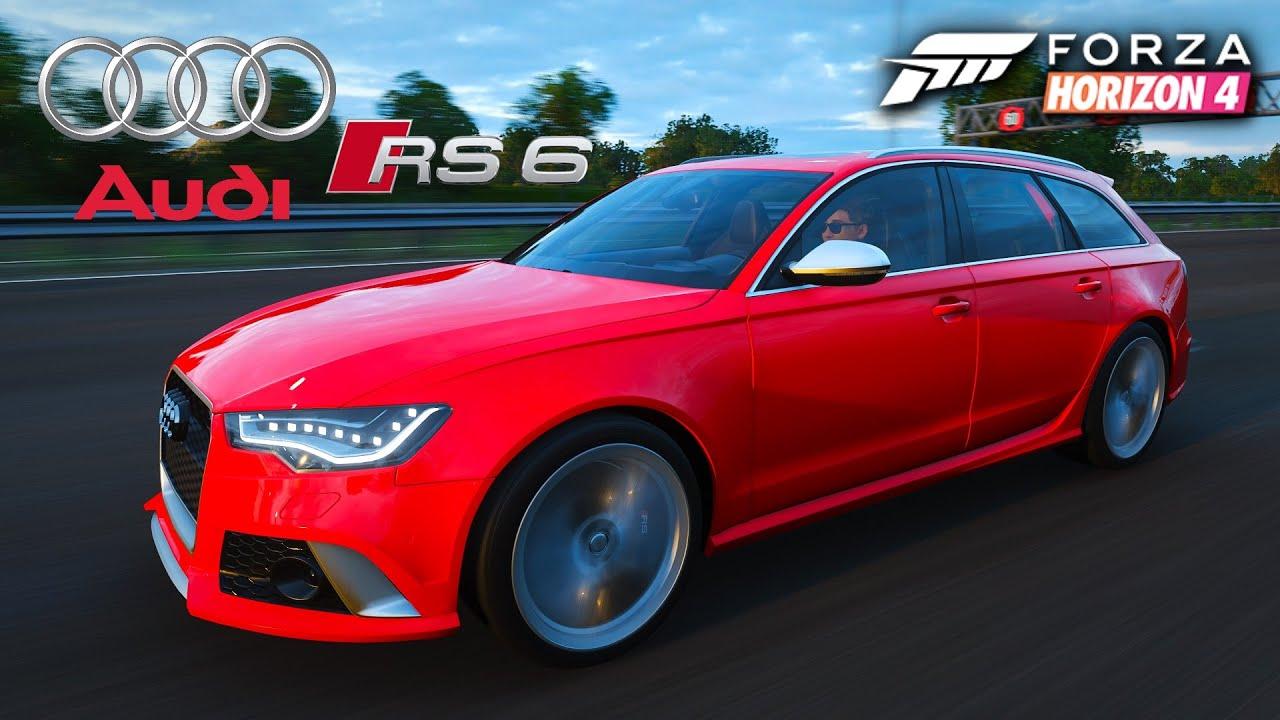 2015 Audi RS6 Avant - Top Speed   Forza Horizon 4 - YouTube