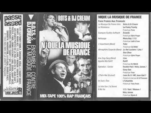 Dj Cream - Nique la musique de France - Face A
