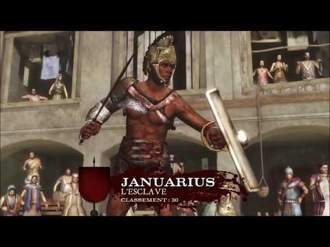Old Video / Spartacus ! ma vie de gladiateur commence !! Spartacus Legende